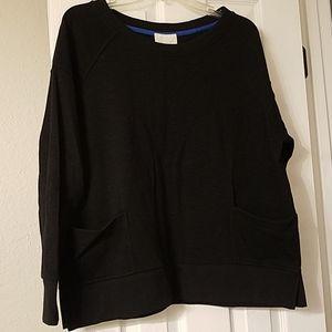 Junk Food Stray Heart Pocketed Raglan Sweatshirt